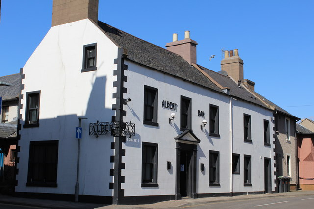 Albert Bar, Montrose (stock image).