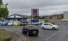 Kevin Hook attacked David Taylor near the Aldi supermarket in McKenzie Street, Kirkcaldy.