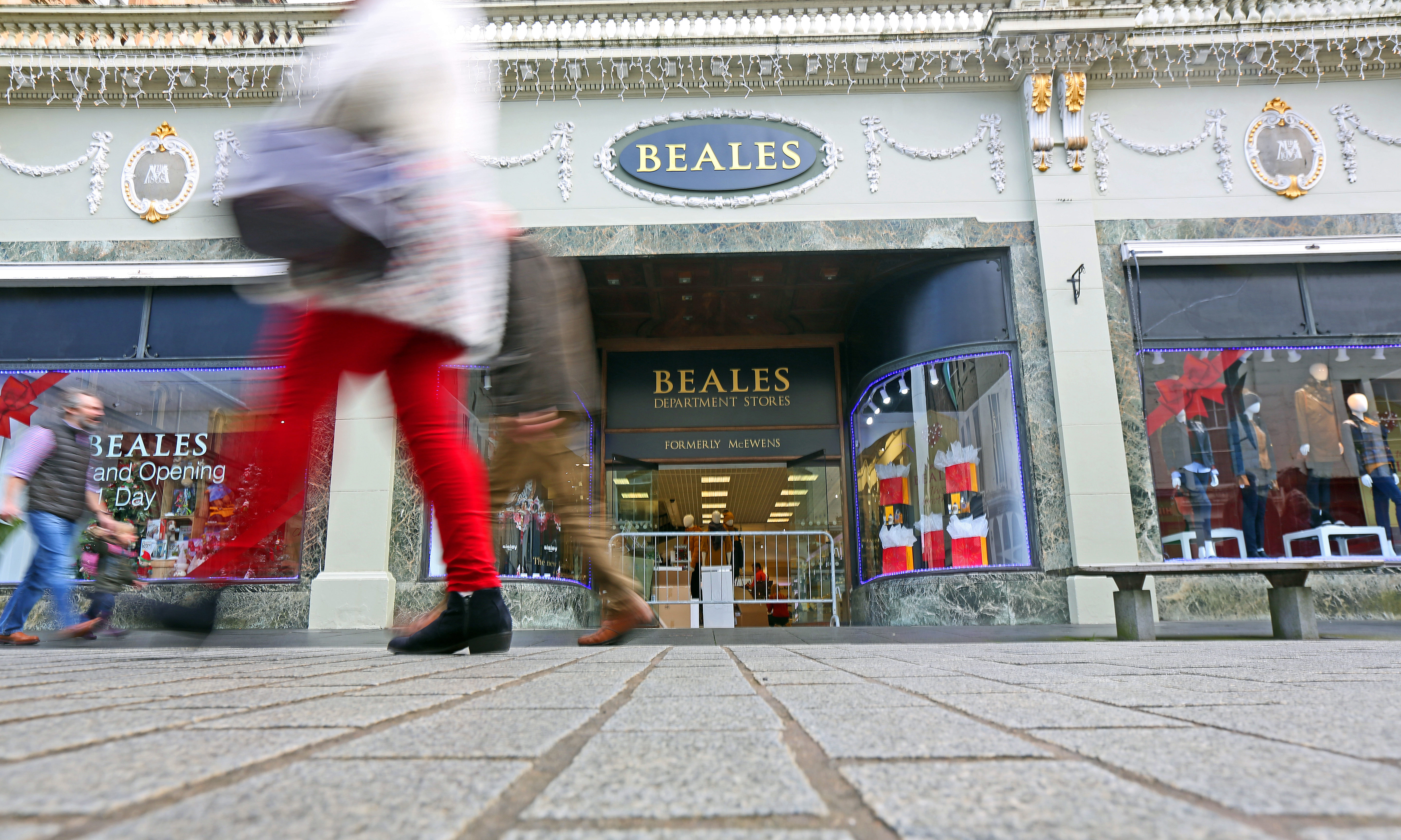 Beales store in Perth.
