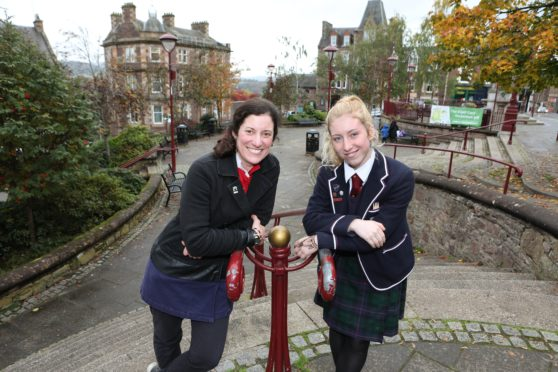 Beth Bell and her daughter Siobahan who is also a member of Creative Crieff
