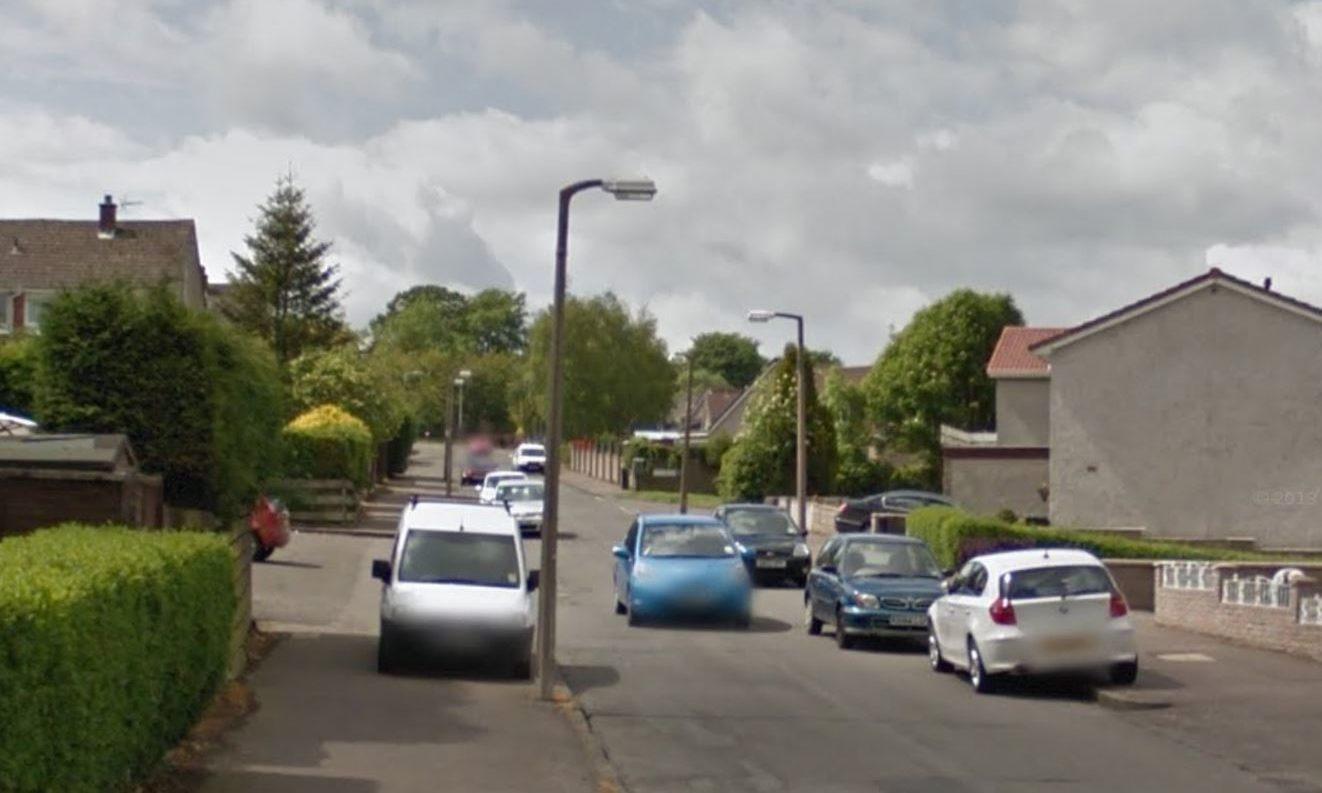 Brackens Road, Dundee (stock image).