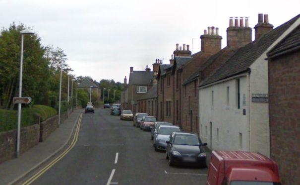 Brechin Road, Kirriemuir (stock image).