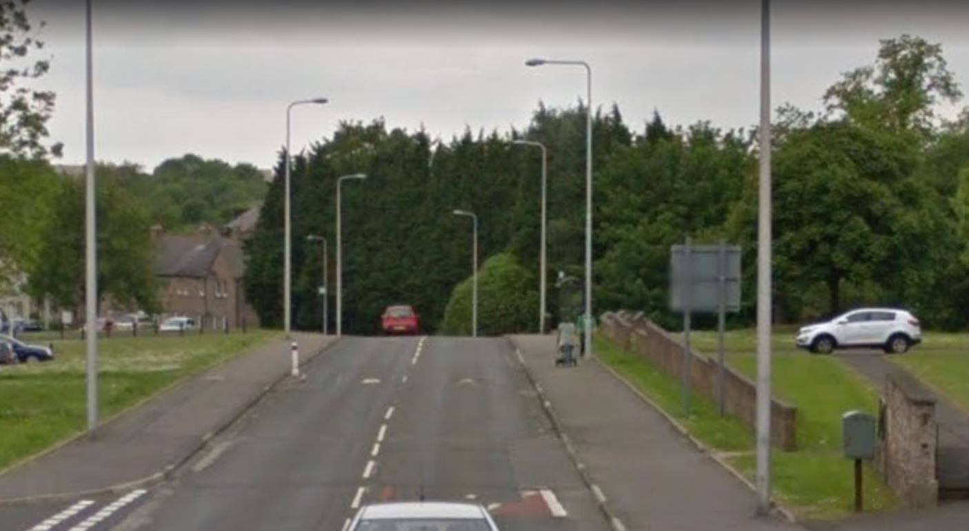 Broomhead Drive, Dunfermline (stock image).