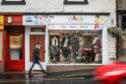 CHAS charity shop in Kinross High Street was victim of vandalism.