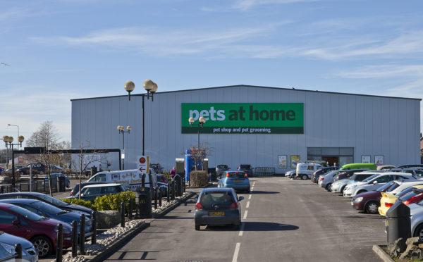 Pets At Home Dundee at Kingsway Retail Park.