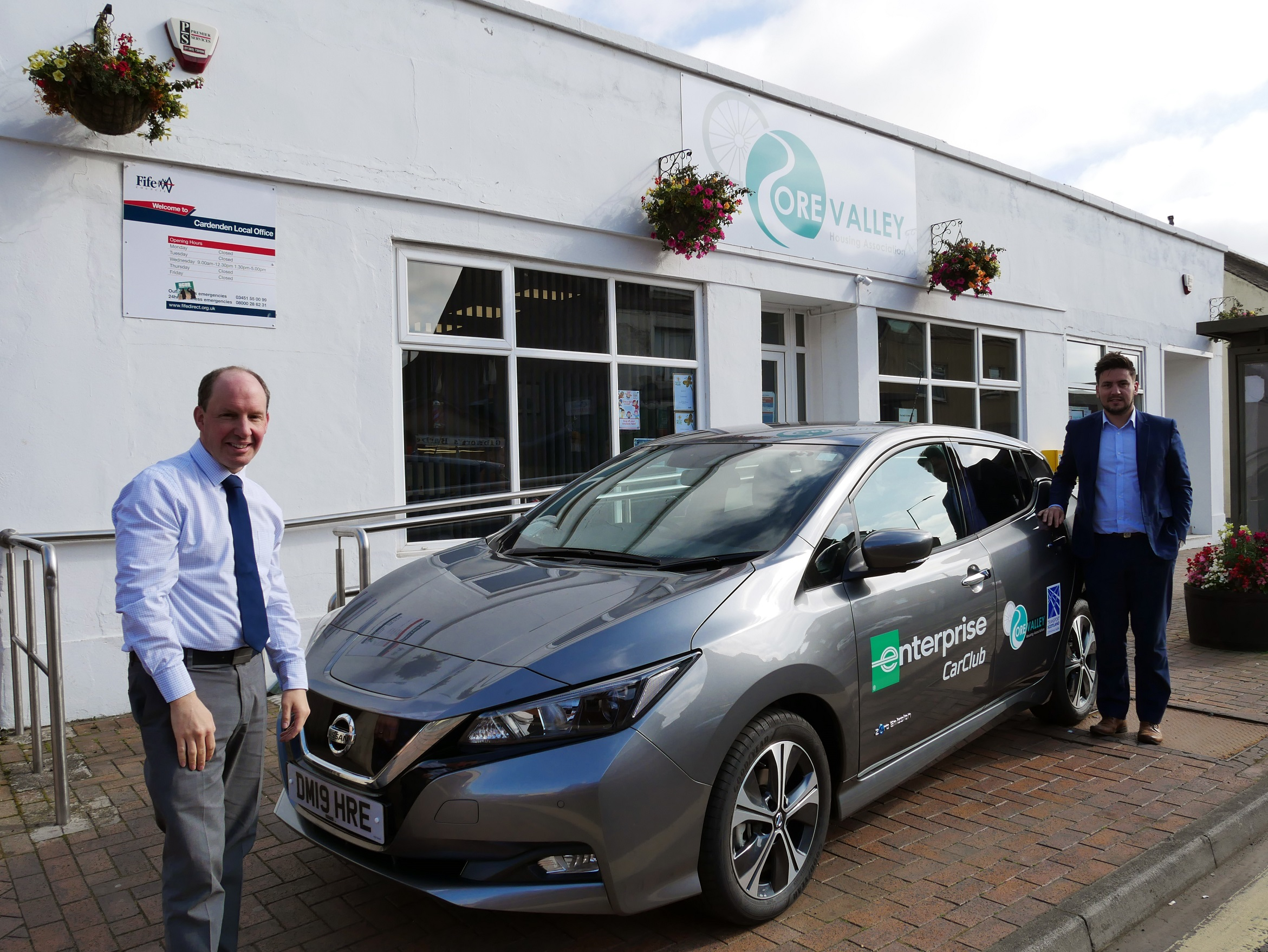 The car club will initially launch in Lochgelly and Cardenden but will soon extend to other areas.