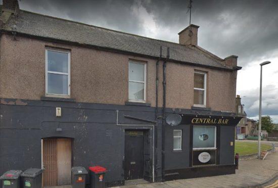 Central Bar, Arbroath (stock image).