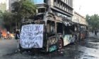 A week of riots have ground life in Santiago, Chile, to a standstill.