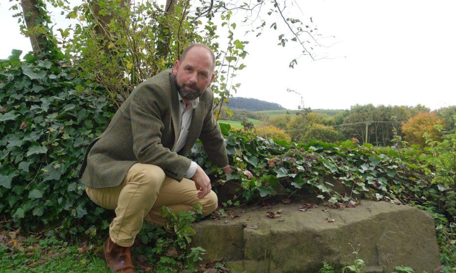 Fife Council archaeologist Douglas Speirs
