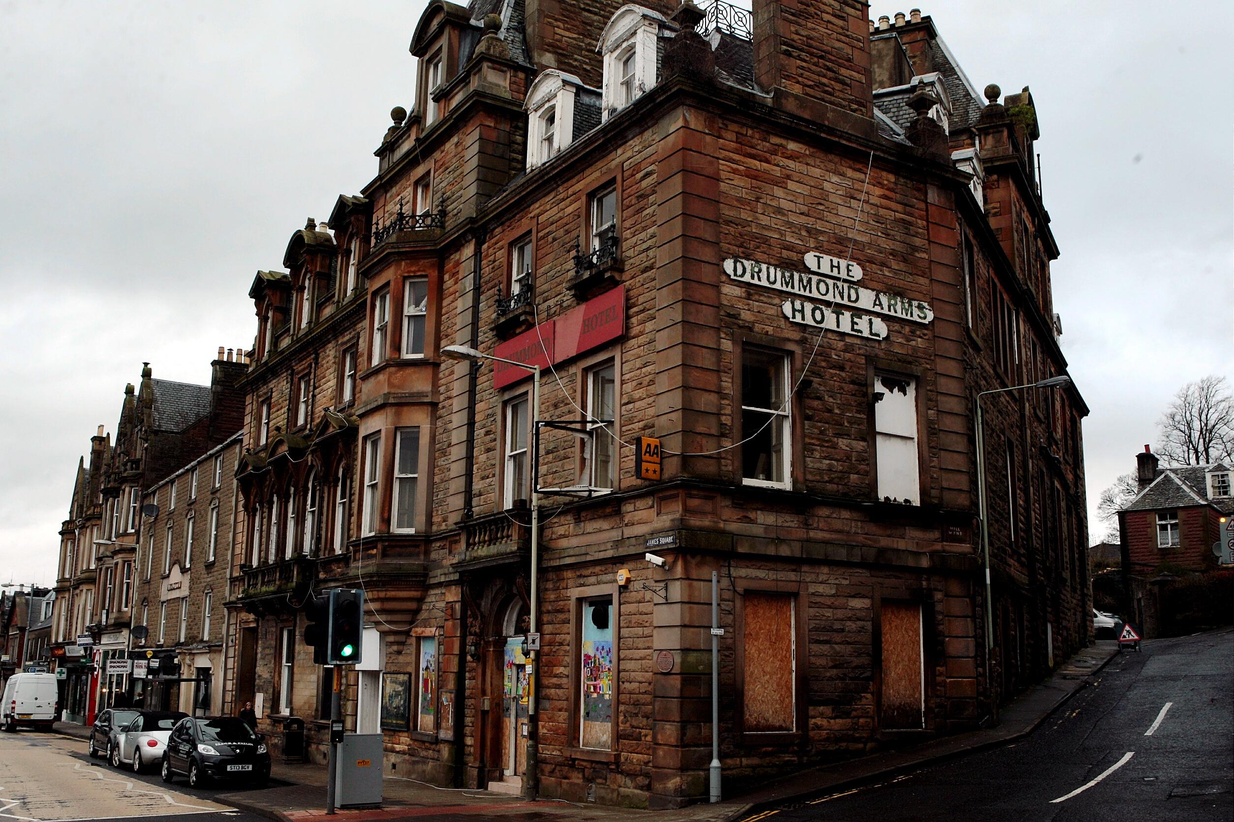 Drummond Arms Hotel, Crieff.