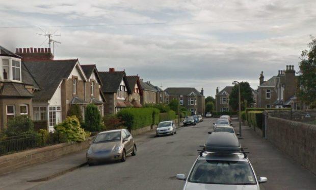 Duff Street, Dundee (stock image).