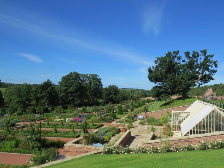 Queen Elizabeth Walled Garden, Dumfries House