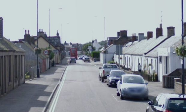 Dundee Street, Carnoustie (stock image).