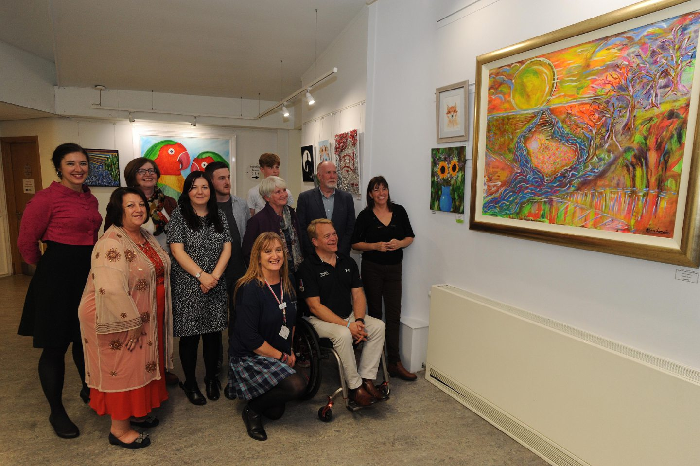 Fife Art Exhibition winners (c) David Wardle