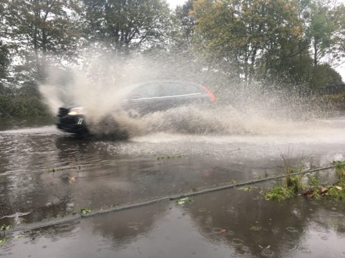 Roads across the region have been flooded.