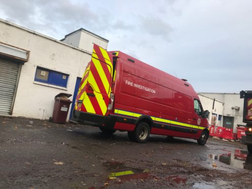 The fire caused extensive damage to MS News and the post office within the shop.