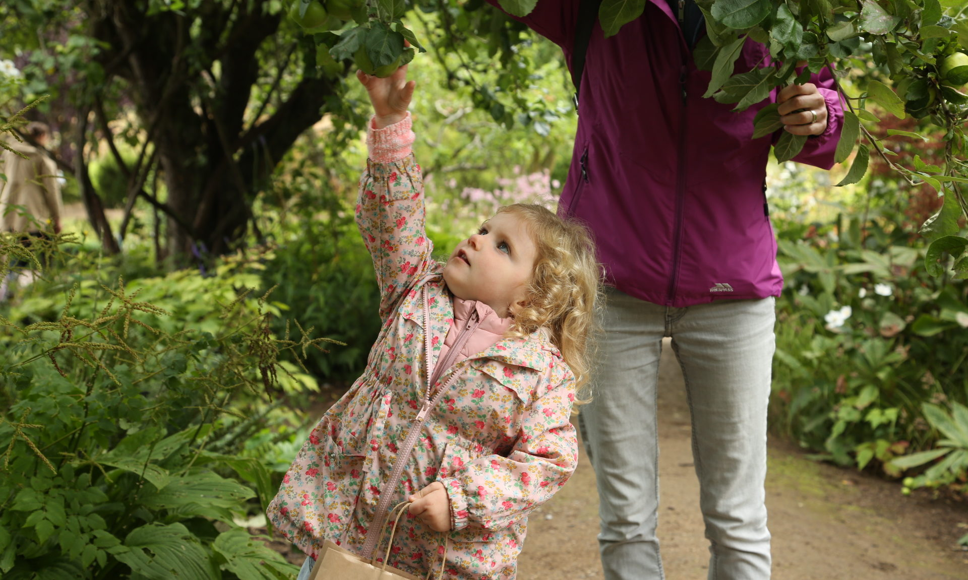 A foraging child