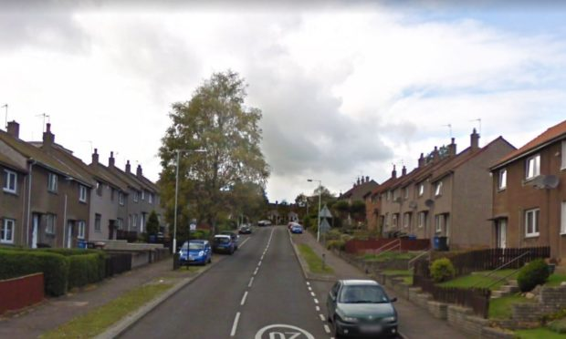 Members of a vigilantes group confronted Burns about the messages in Glamis Road, Kirkcaldy, where he lived at the time.
