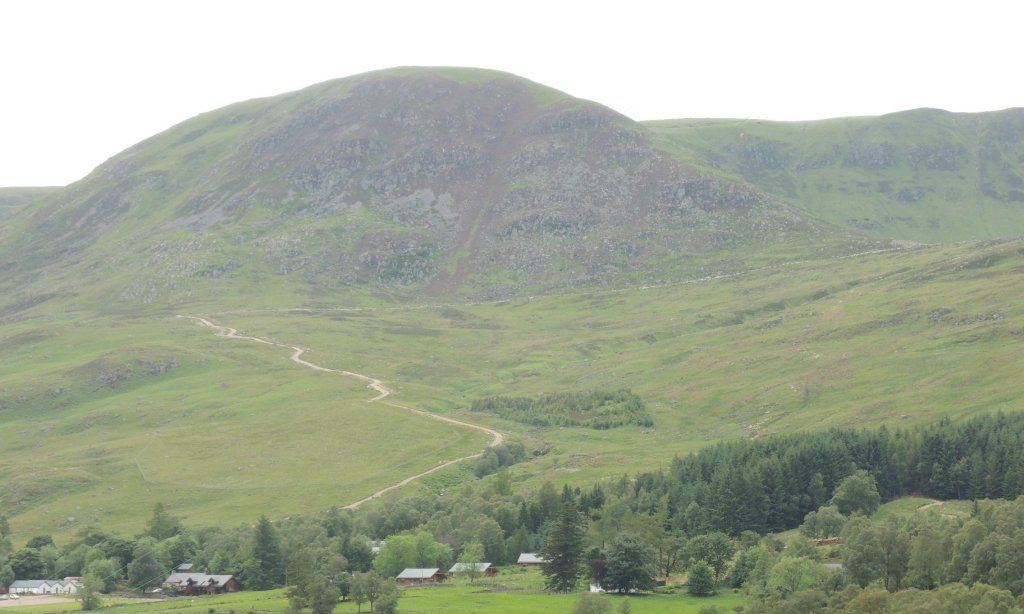 The Glen Clova hill track.