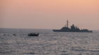 HMS Montrose worked alongside a French frigate on the successful counter  narcotics operation.