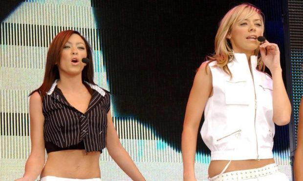 Atomic Kitten performing in 2004.