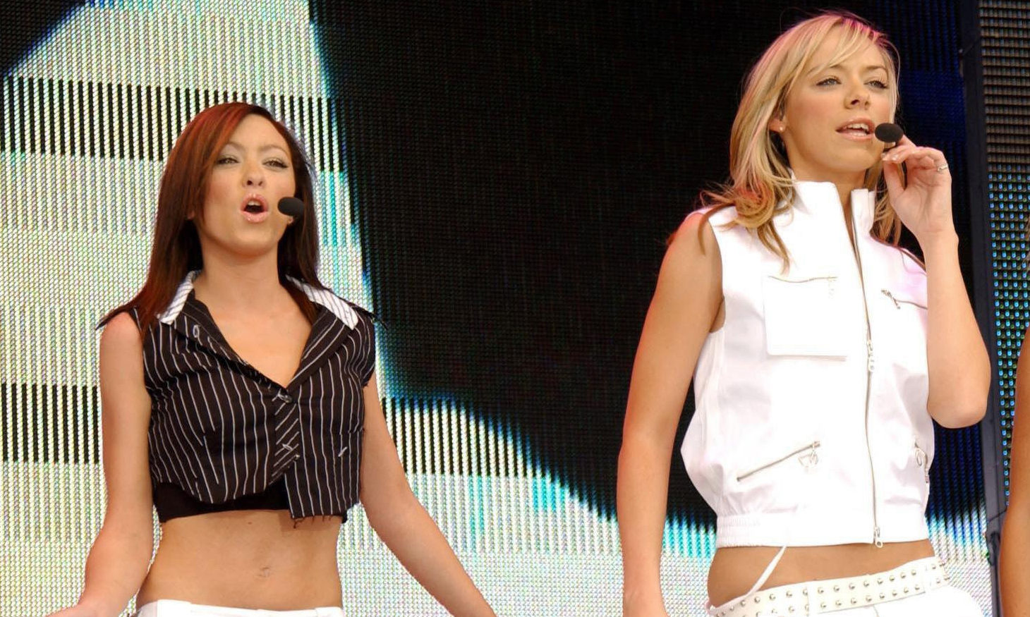 Atomic Kitten performing in 2004.