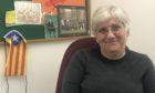 Professor Clara Ponsati in her St Andrews University office