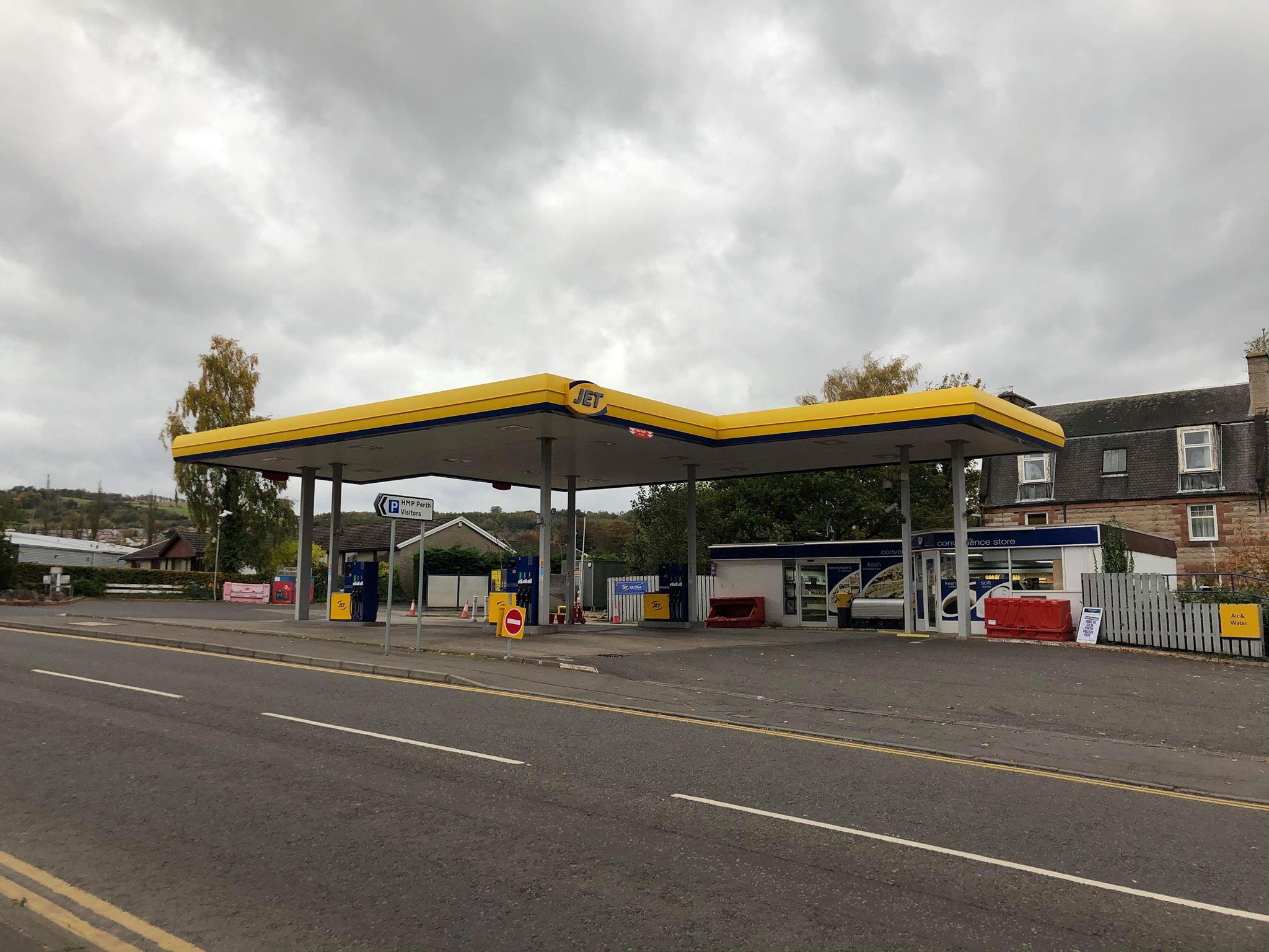 Jet petrol station in Perth