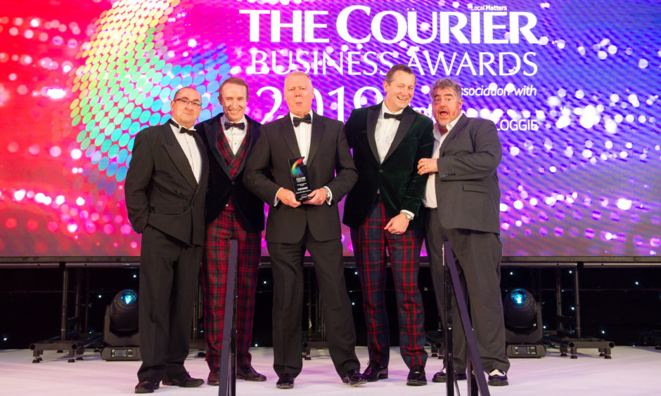 Courier Business Awards 2019: Family Business of the Year and Overall Winner, James Donaldson & Sons