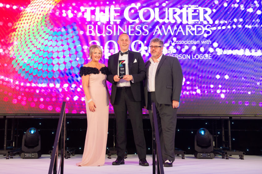 Courier Business Awards 2019 digital business of the Year Winner, Miconex