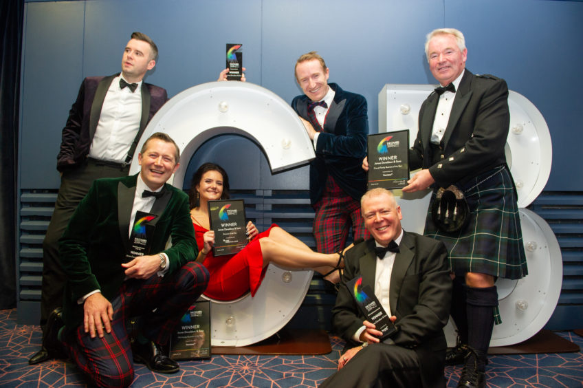 Family Business of the Year, James Donaldson & Sons celebrate their successful night