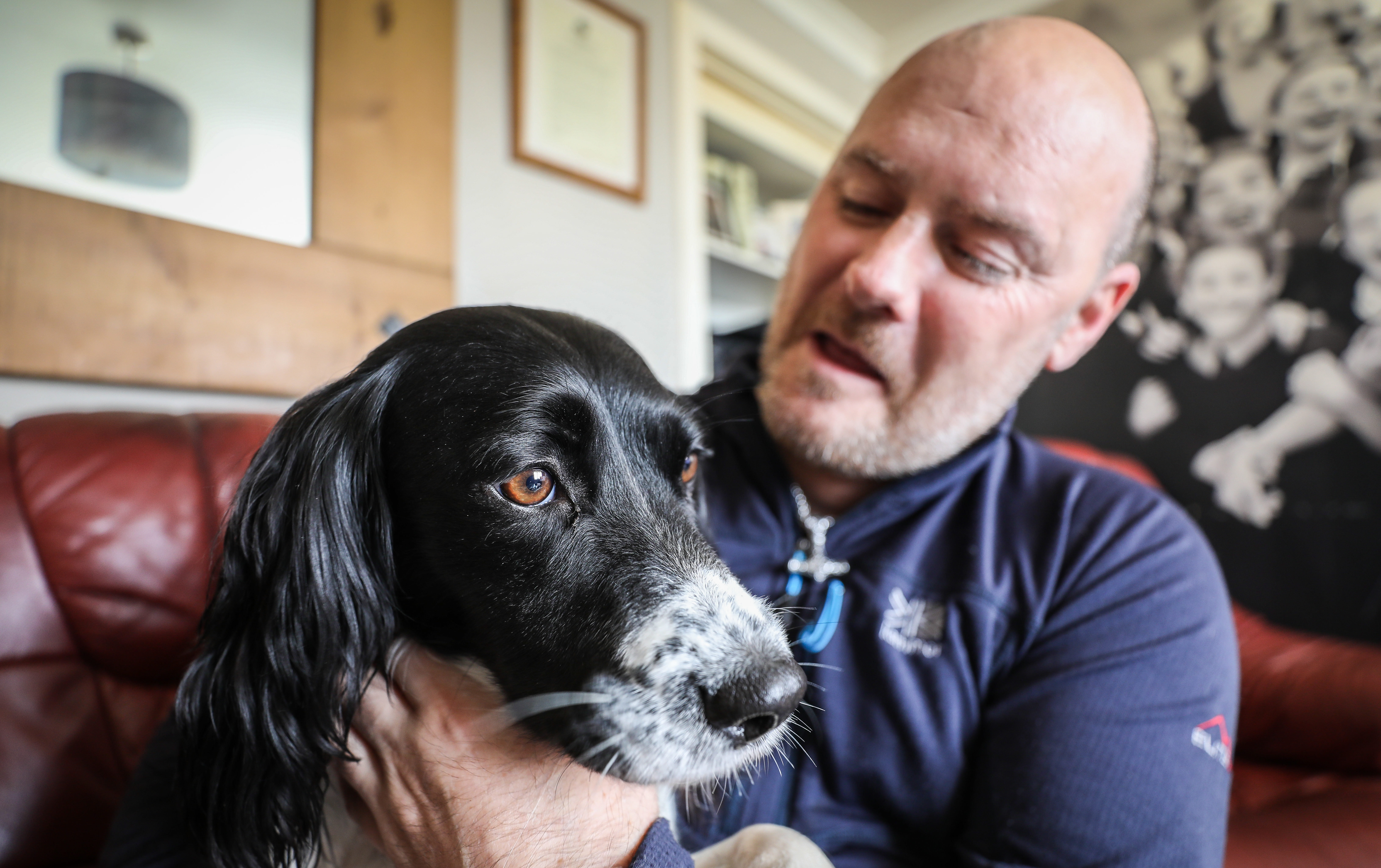 Paul Wilkie was refused service in Tesco while with his PTSD dog Irma.