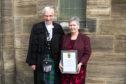 Rt Rev Colin Sinclair and Marjorie McHattie.