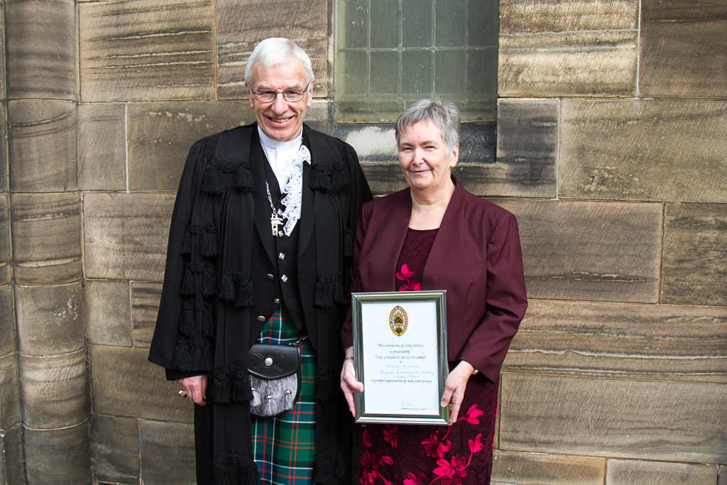 Rt Rev Colin Sinclair and Marjorie McHattie.