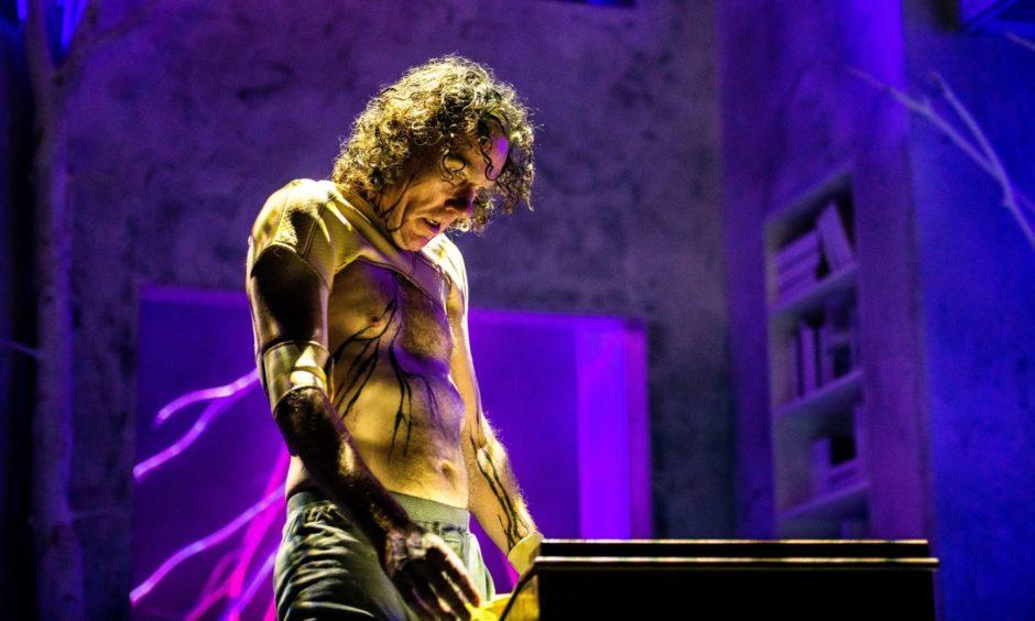 Michael Moreland as the Monster in Frankenstein