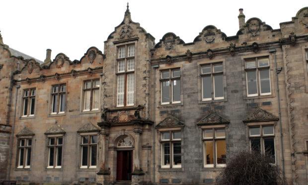 St Salvator's Quad, St Andrews University.