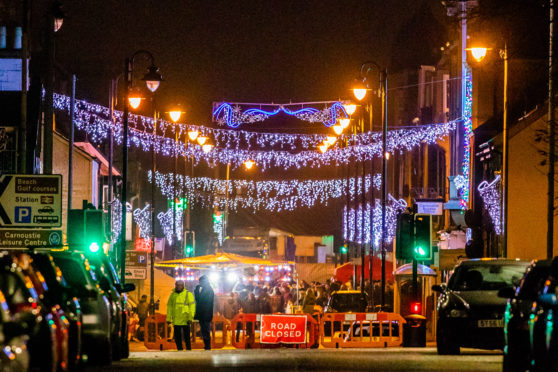 Carnoustie will shine again this Christmas thanks to the grant