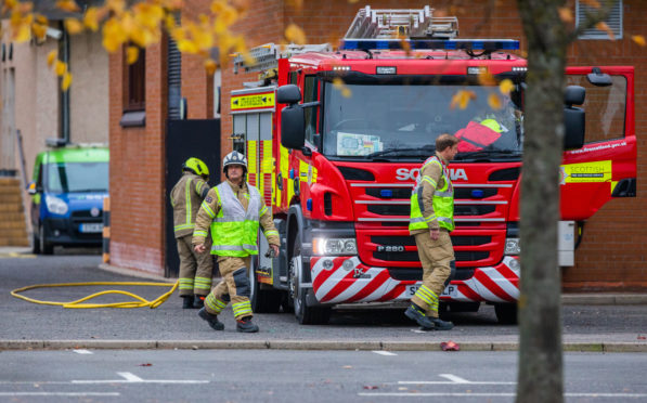 Fire crews out in Perth in 2019
