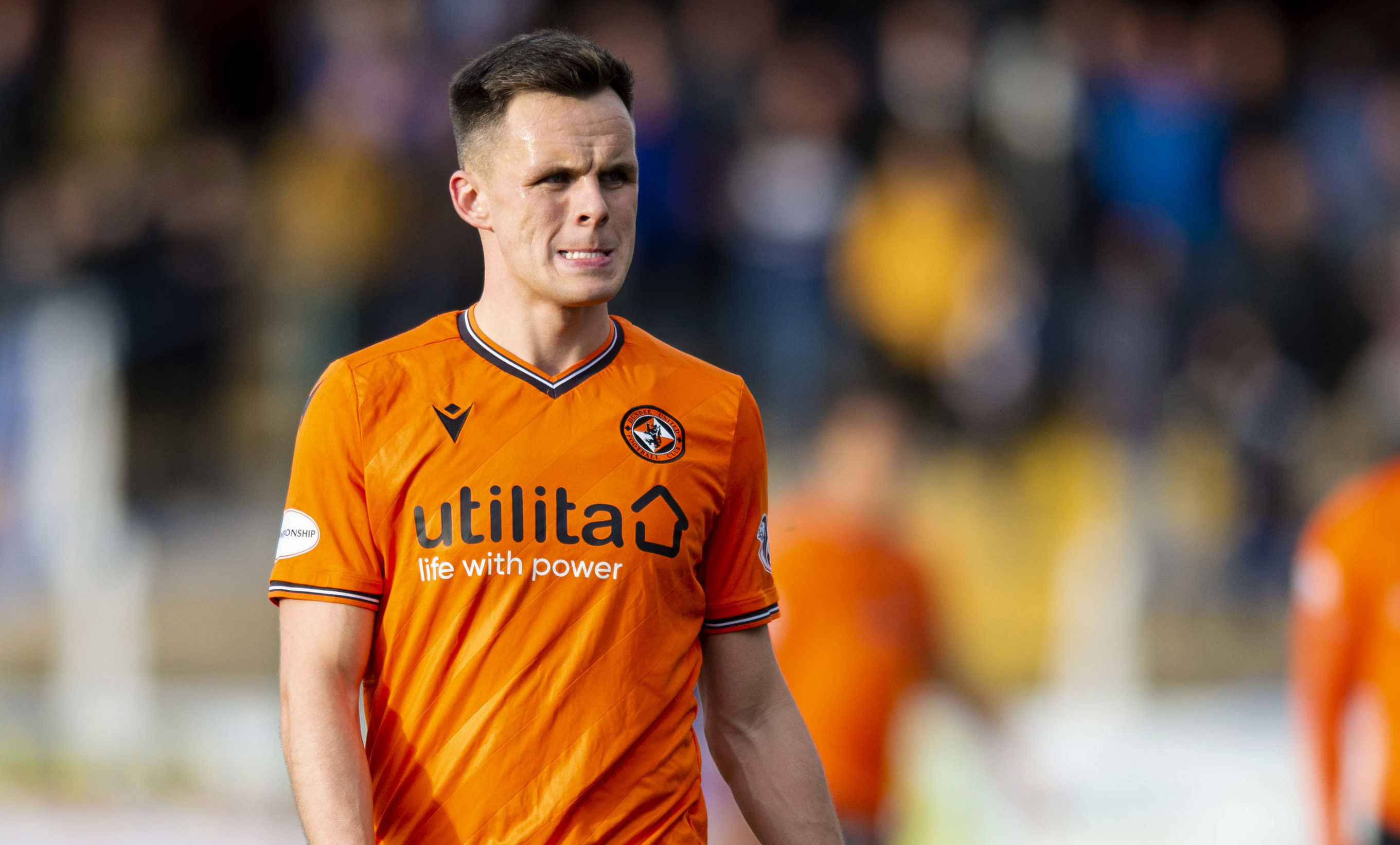Lawrence Shankland has missed most of the season through injury.