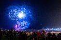 Fireworks light up the sky in Burntisland last year.