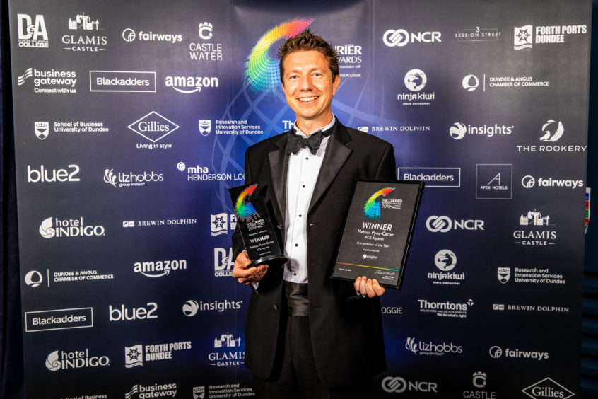 Entrepreneur of the Year Winner, Nathan Pyne-Carter