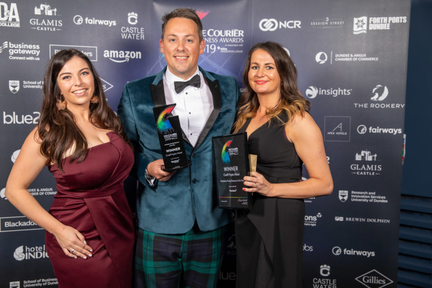 Family Business of the Year, Winner for Perthshire, Crieff Hydro Hotel