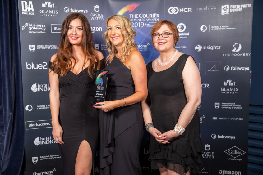 Growth Business of the Year Winner, Balhousie Care Group
