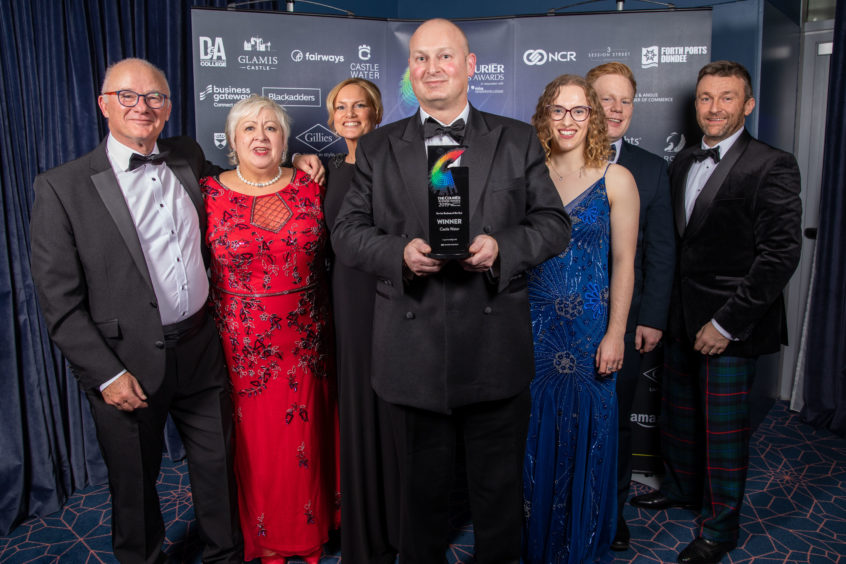 Service Business of the Year Winner, Castle Water