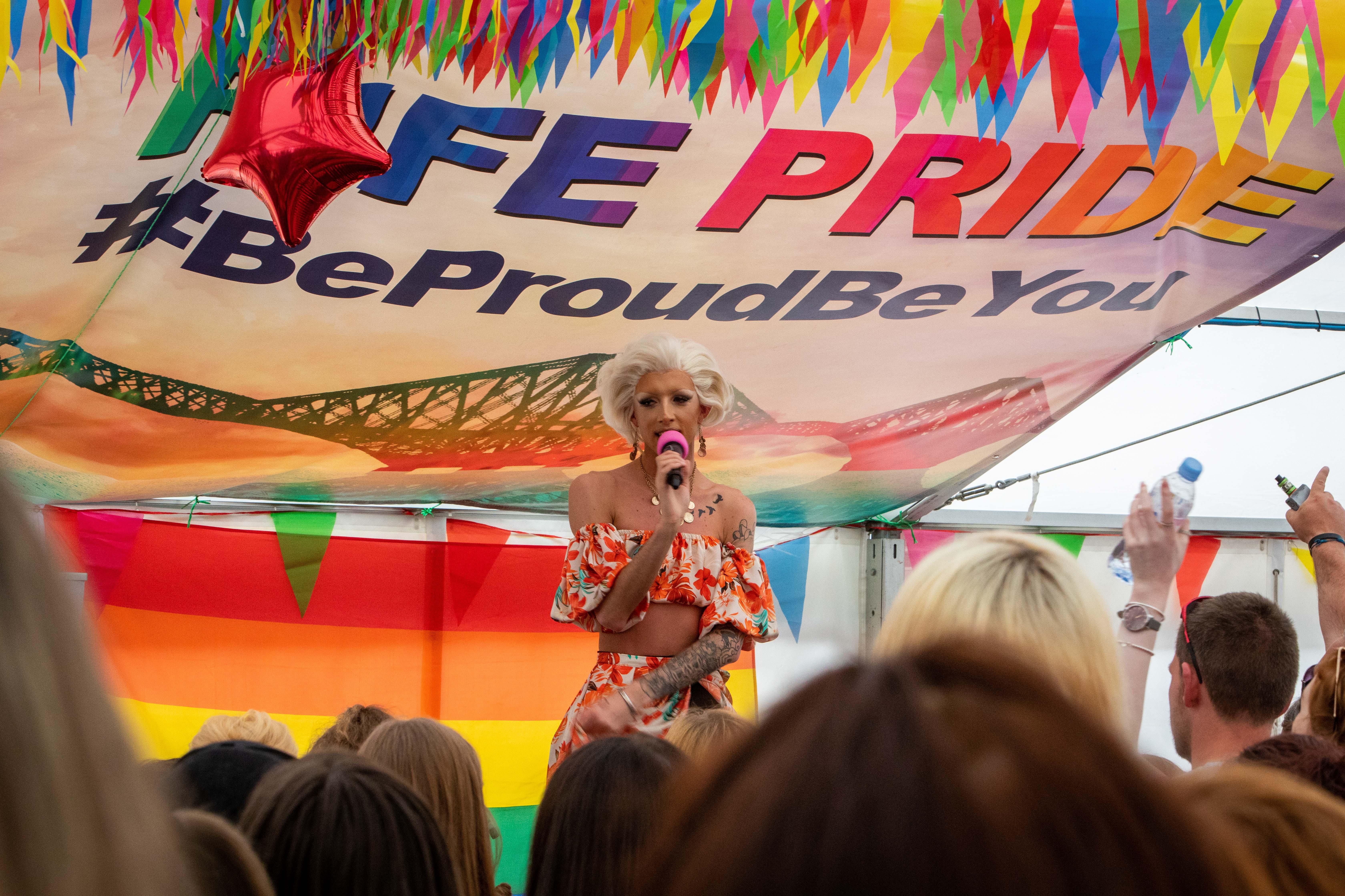 Fife Pride has been a huge hit.