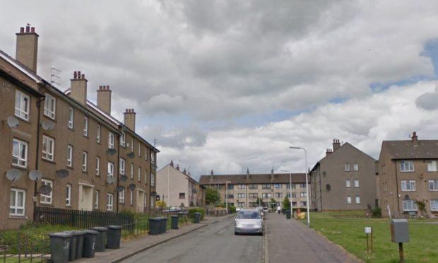 St Mungo Terrace, Dundee (stock image).