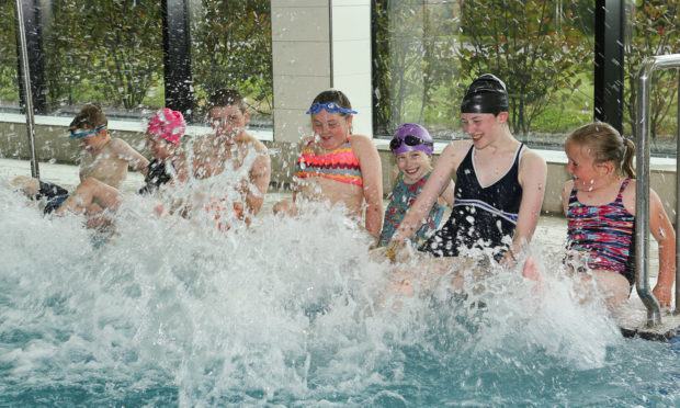 Opening hours at leisure centres have been curbed as a result of budget pressures.