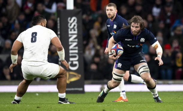 Ben Toolis played the entire Calcutta Cup game.