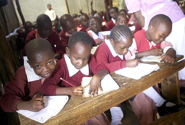 Class 2, Excellence School, Mathare, Nairobi