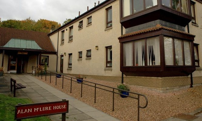 The former Alan McLure House Care Home in Balbirnie Road.